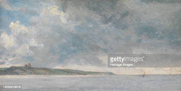 Coastal Scene with Cliffs;Coastal Scene with Cliffs and a View of Hadleigh Castle ;Coastal Scene with Cliffs ;Hadleigh from the Thames, ca. 1814....