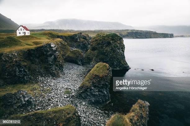 Coastal scenery in Arnarstapi