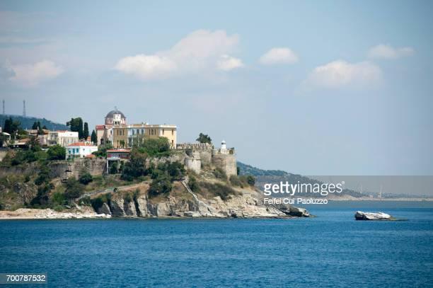 Coastal town Kavala, Thrace Region, eastern Macedonia, Greece