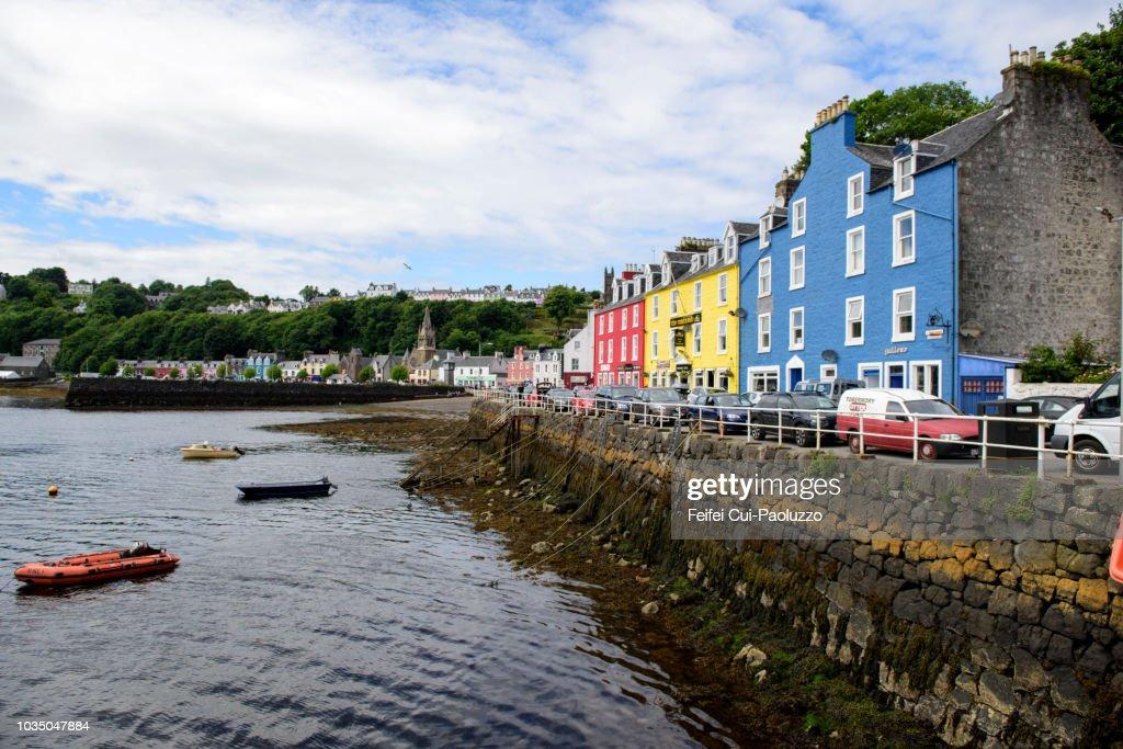 Coastal Town Of Tobermory Isle Of Mull Scotland Stock Photo - Getty