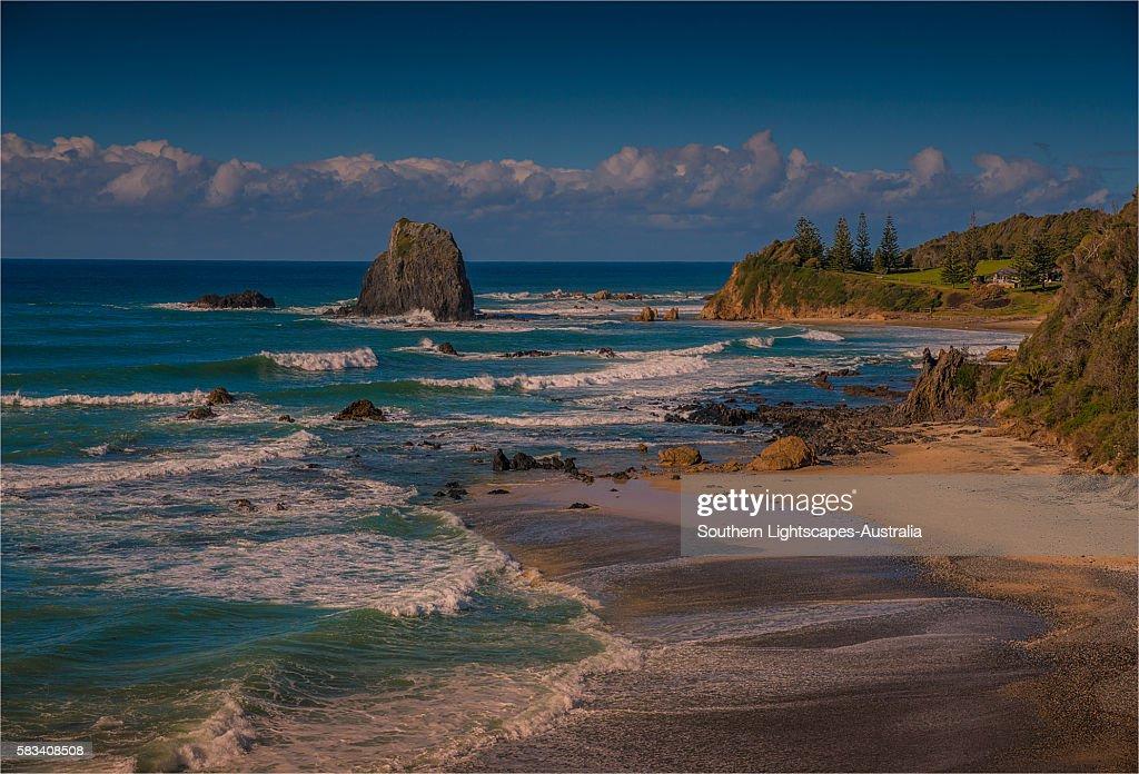 Coastal view at Narooma, southern coastline of New South Wales, Australia. : Stock Photo