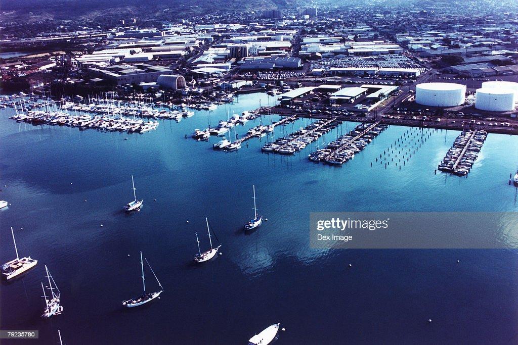 Coastal view of Oahu, Hawaii : Stock Photo