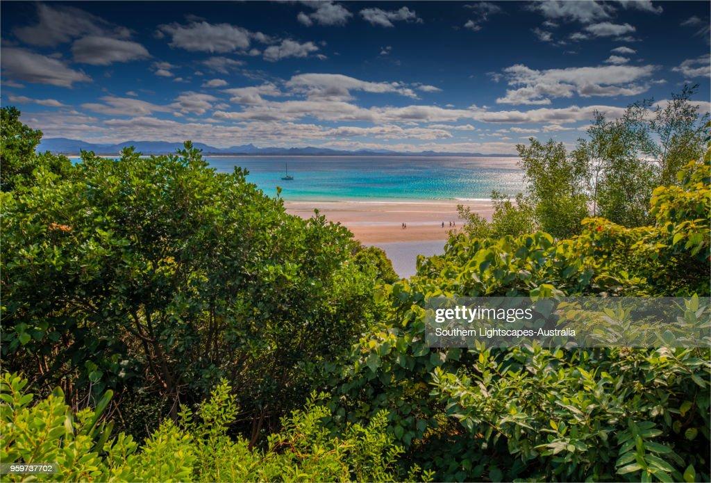 Coastal views at Byron Bay, New south Wales, Australia. : Stock-Foto