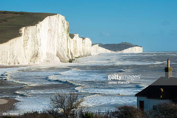 Coastguard Cottage and Seven Sisters