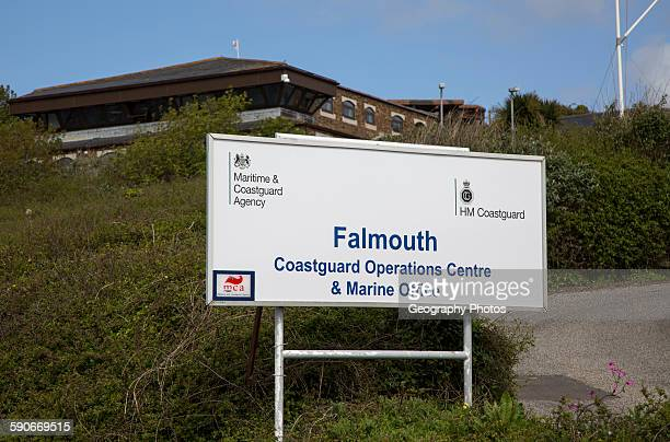 Coastguard Operations center and Marine office, Falmouth, Cornwall, England, UK.