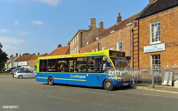 Coasthopper autobús en el Burnham mercado