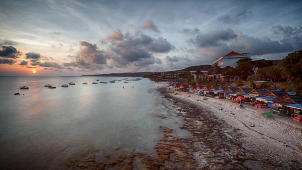 Coastline and Sunset of South Suwlawesi