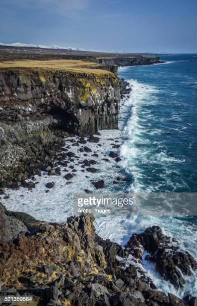 Coastline at Arnarstapi, Snaefellsnes Peninsula, Iceland