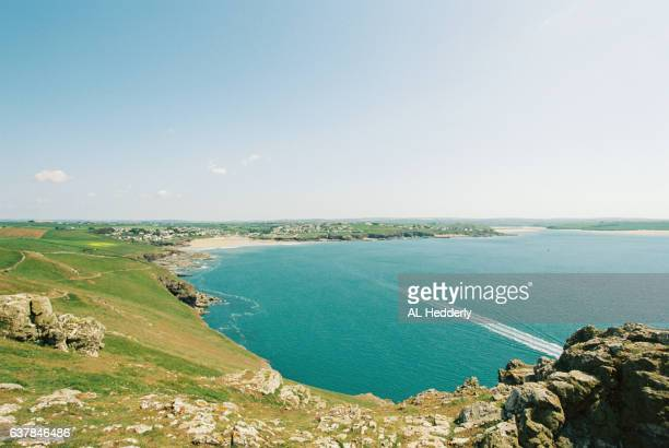 Coastline from Pentire Point, North Cornwall