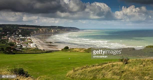 Coastline, Hautot-sur-Mer, Haute-Normandie, France