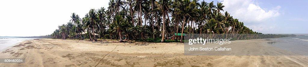 Coastline in Eastern Samar : Stock Photo