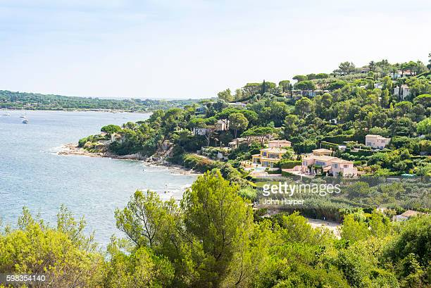 Coastline in St. Tropez, France