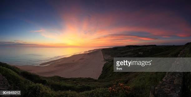 Coastline in the Normandy /Barneville-Carteret, France)