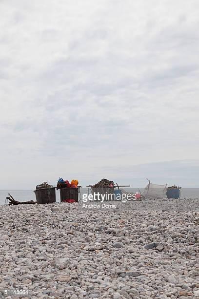 coastline lyme regis - andrew dernie imagens e fotografias de stock