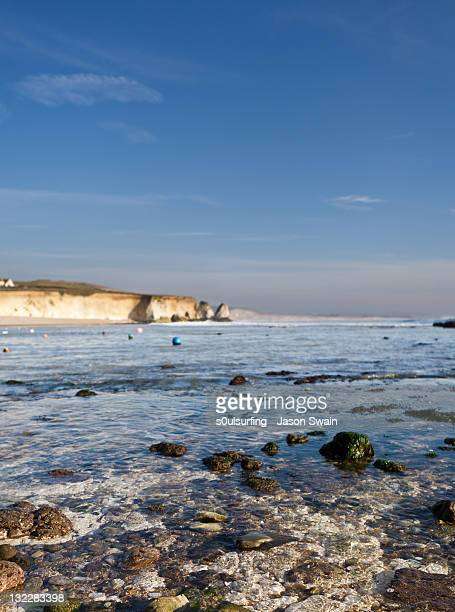 coastline near freshwater bay - s0ulsurfing stock pictures, royalty-free photos & images