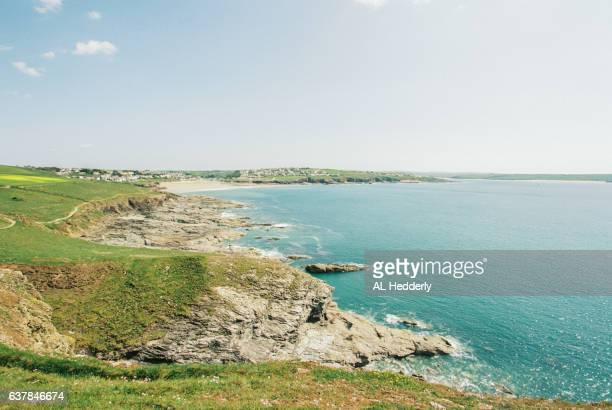Coastline near Pentire Point, North Cornwall