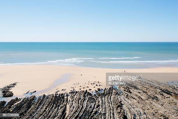 Coastline near Sandymouth Beach, Cornwall