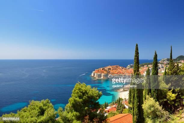 Coastline of Dubrovnik