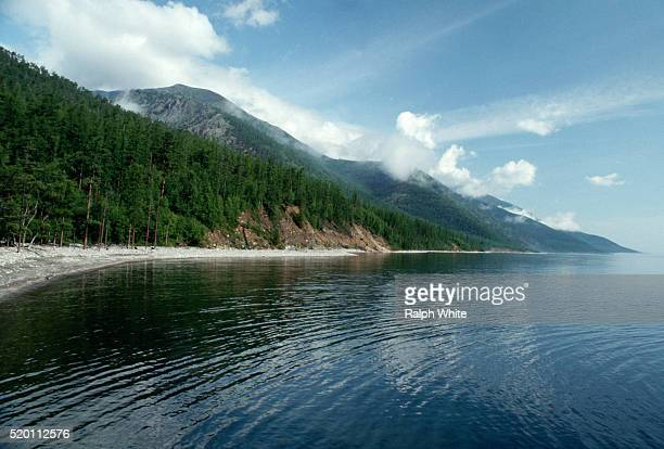 Coastline of Lake Baikal