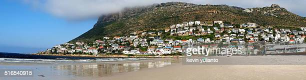 coastline of mossel bay - mossel bay stock pictures, royalty-free photos & images