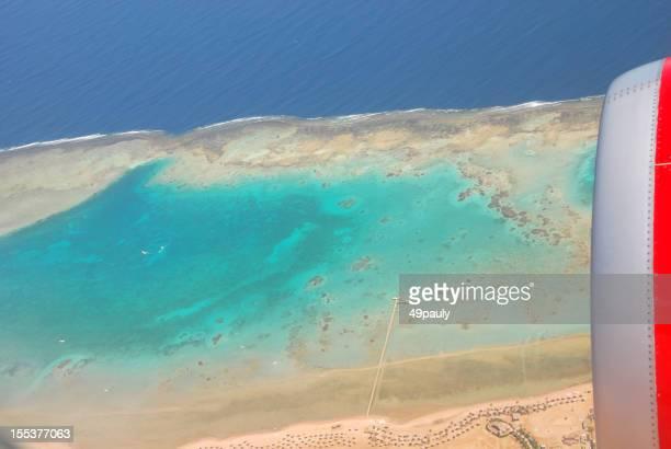 Coastline of Sharm al-Sheikh in Egypt