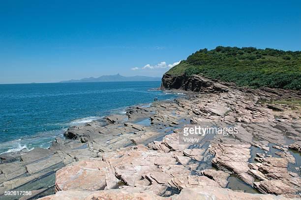 Coastline of Tung Ping Chau, Hong Kong