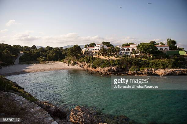 coastline tarragona spain - jcbonassin stock pictures, royalty-free photos & images