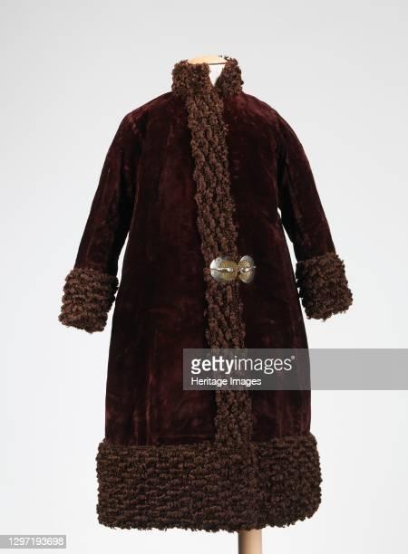 Coat, American, 1880-89. Artist Unknown.