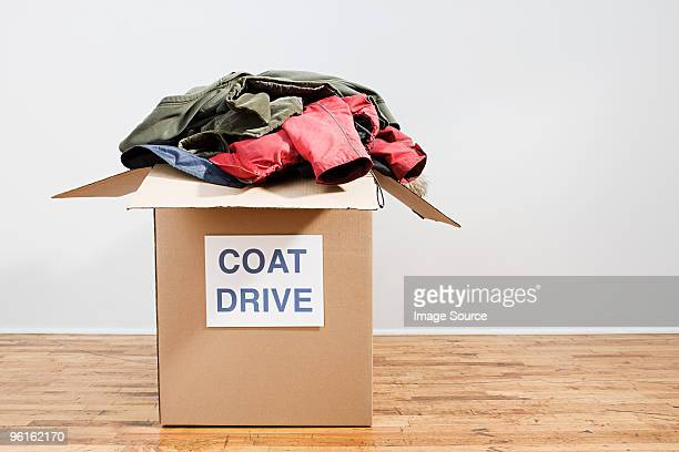 coat drive - coat stock pictures, royalty-free photos & images