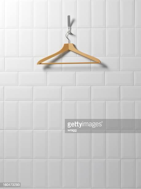 Coat Hanger in a Changing Room