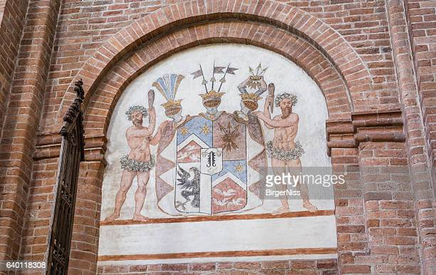Coat of Arms in Sanct Bendts Church, Ringsted, Denmark