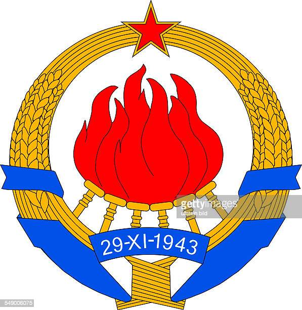 Coat of arms of the Socialist Federal Republic of Yugoslavia SFRY