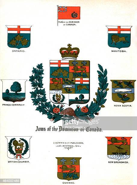 Coats of arms and flags of Canada