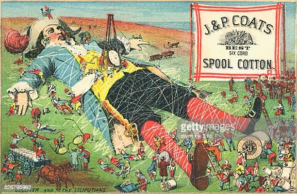 JP Coats Spool Cotton Trade Card
