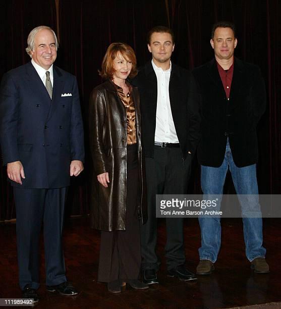 Coauthor Frank W Abagnale Nathalie Baye Leonardo DiCaprio and Tom Hanks