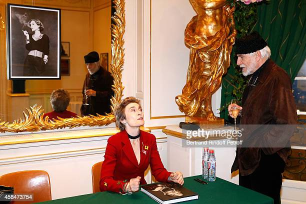 Co-Autor of the book Natasha Fraser-Cavassoni and Husband of Loulou de la Falaise, Thadee Klossowski de Rola attend the 'Loulou de la Falaise' book...