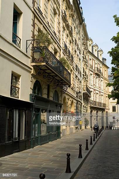 Cobbled city street