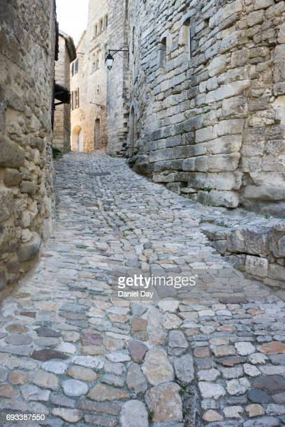 Cobbled pathway, France