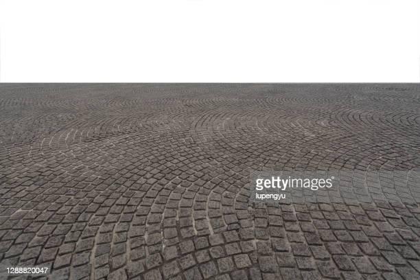 cobblestone street - 石畳 ストックフォトと画像