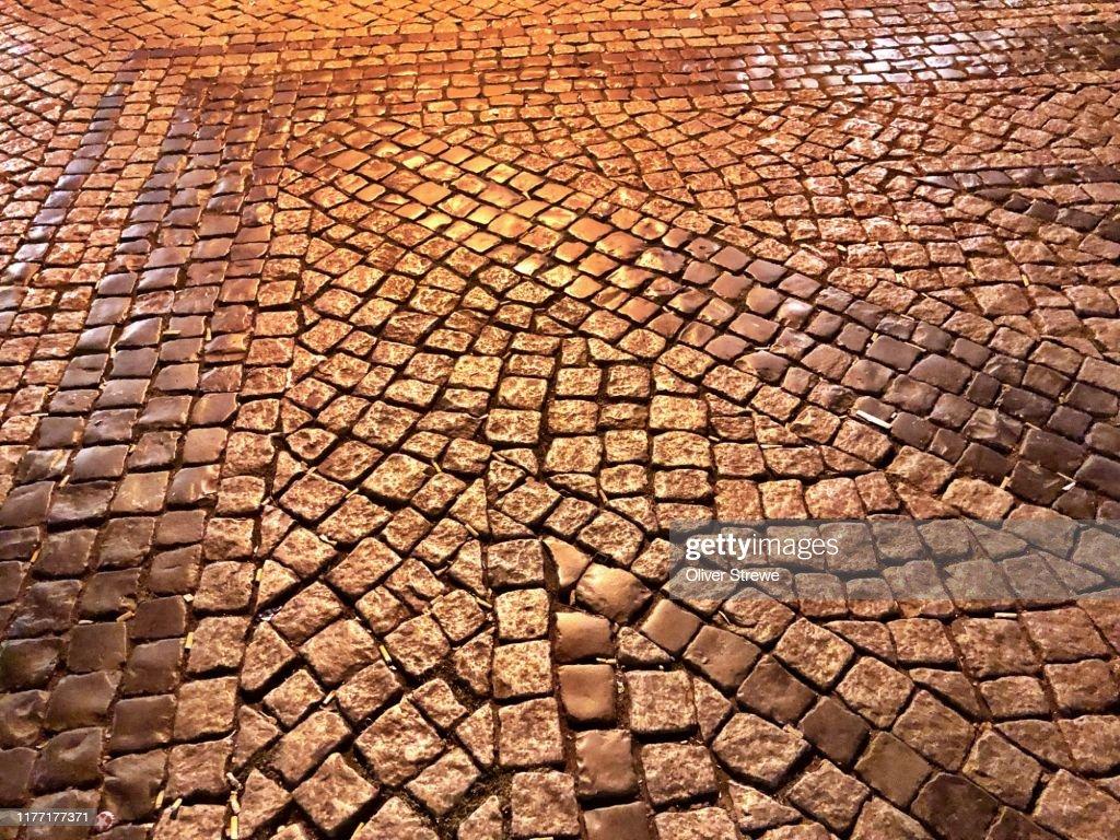 Cobblestones : Foto de stock