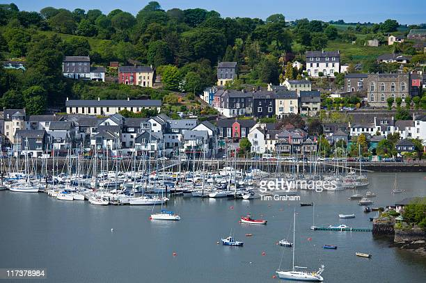 cobh harbour, county cork, ireland - republic of ireland stock pictures, royalty-free photos & images