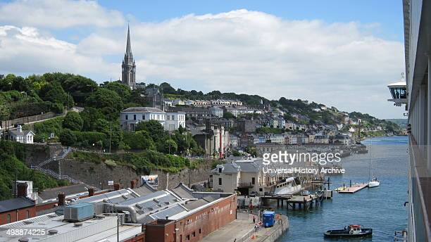 Cobh known from 1850 until 1920 as Queenstown a seaport town on the south coast of County Cork Ireland 2010