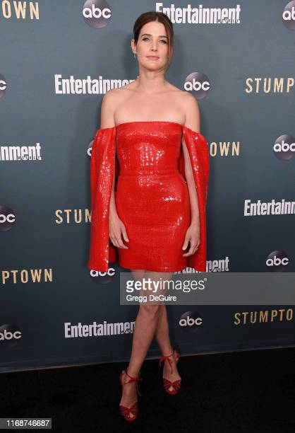 "Cobie Smulders arrives at the premiere of ABC's ""Stumptown"" at the Petersen Automotive Museum on September 16, 2019 in Los Angeles, California."