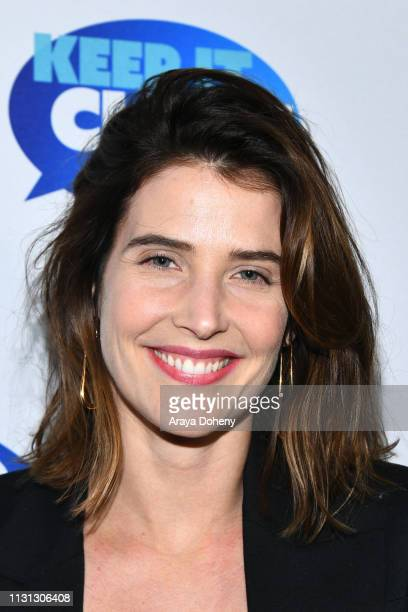 Cobie Smulders at 5th Annual Keep It Clean Live Comedy Benefit For Waterkeeper Alliance at Largo At The Coronet on February 21 2019 in Los Angeles...