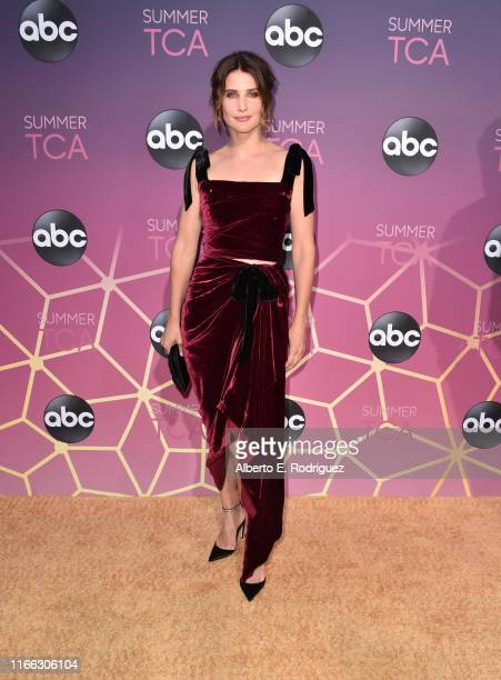 Cobie Smulders attends ABC's TCA Summer Press Tour Carpet Event on August 05, 2019 in West Hollywood, California.