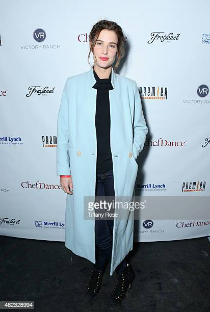 Cobie Smulders attends ChefDance 2015 presented by Victory Ranch and sponsored by Merrill Lynch, Freixenet, Anchor Distilling, and Premier Meat Co....