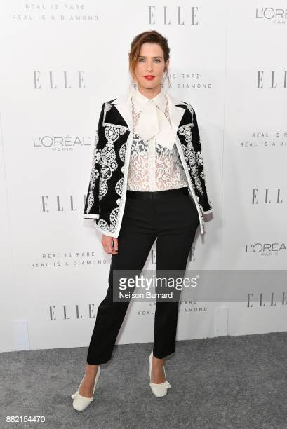 Cobie Smulders attends ELLE's 24th Annual Women in Hollywood Celebration presented by L'Oreal Paris Real Is Rare Real Is A Diamond and CALVIN KLEIN...