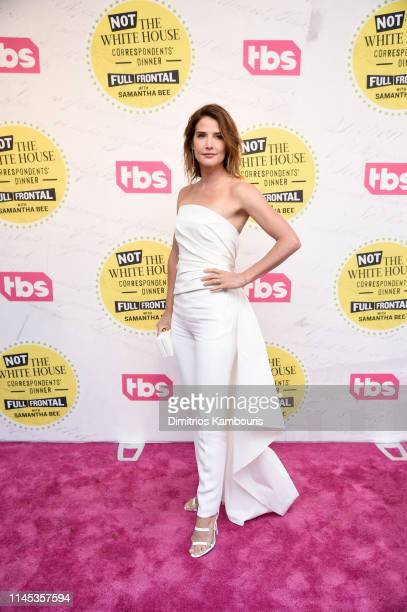 Cobie Smulders attends Full Frontal With Samantha Bee Not The White House Correspondents Dinner at DAR Constitution Hall on April 26 2019 in...