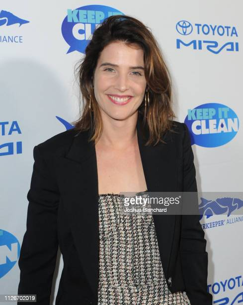 Cobie Smulders attends Keep It Clean Live Comedy To Benefit Waterkeeper Alliance on February 21 2019 in Los Angeles California