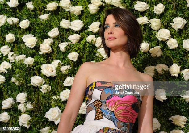 Cobie Smulders attends the 2017 Tony Awards at Radio City Music Hall on June 11, 2017 in New York City.